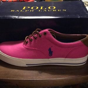 Brand new Polo by Ralph Lauren Canvas Shoes